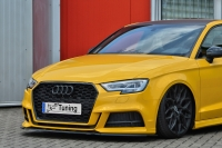 Cup Frontspoilerlippe für Audi A3 S3 8V S-Line + Cabrio Facelift